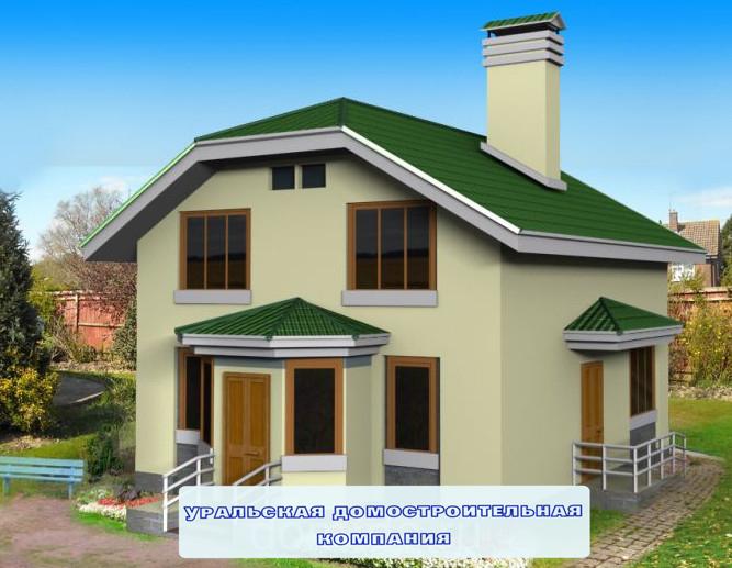 красивые дома из пеноблока 9 12 сравнению обычным хлопковым