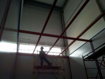 В г. Астана в Казахстане на Заводе по производству дизельных двигателей начато возведение камеры для смешивания и хранения красок