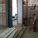 Возведение окрасочно-сушильной камеры на Заводе по производству дизельных двигателей в г. Астана (Казахстан)