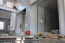 Специалистами SPK GROUP проводится модернизация дробеструйной камеры для Музея РЖД Екатеринбурга
