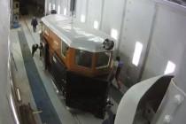 Команда SPK успешно закончила реставрацию вагона для Музея истории, науки и техники Свердловской железной дороги