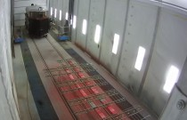Продолжаются работы по реставрации музейной железнодорожной техники в камере покраски от SPK GROUP