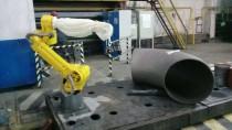 Роботизированное окрашивание магистральных труб