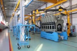 Нестандартное оборудование для выпуска и сборки дизельных двигателей