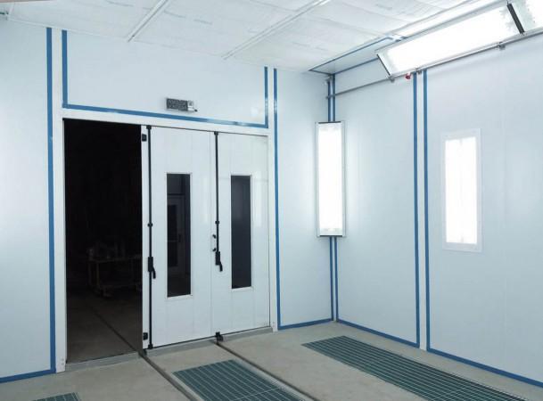 Модернизация покрасочных камер для металлоконструкций