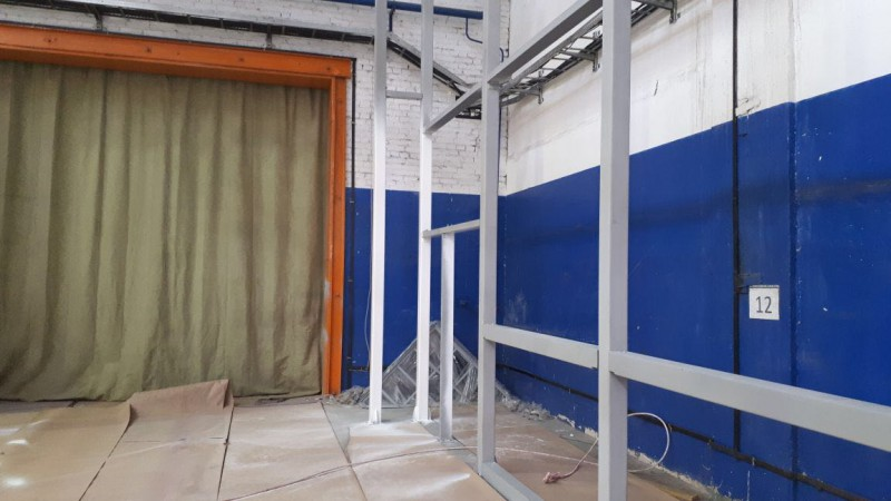 Модернизация корпуса покрасочно-сушильной камеры
