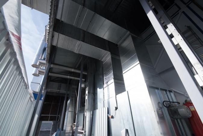 Модернизация системы вентиляции покрасочной камеры
