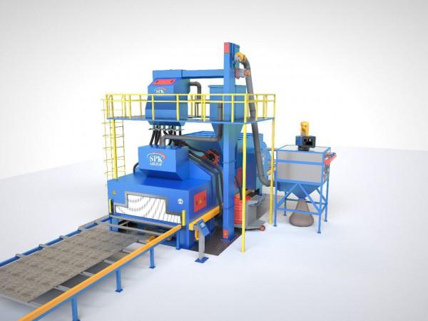 Производство оборудования для дробеметных установок