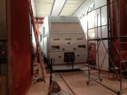 Модернизация покрасочных камер для железнодорожного транспорта