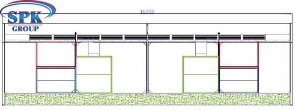 Посты подготовки к окраске грузовых автомобилей мод. CAR 16.4.4