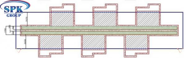 Окрасочно-сушильная камера для металлоконструкций  SPK 32.7.7 Россия