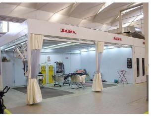 Зона подготовки PrepKleen6x4C Saima (Италия)