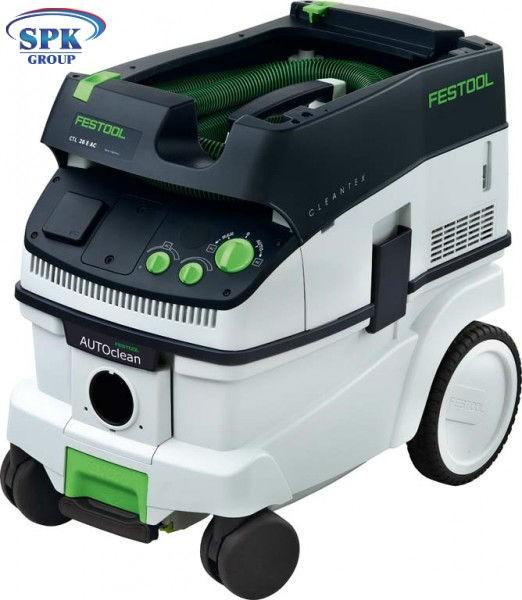 Пылеудаляющий аппарат c 2-мя розетками CTL 26 E SD 230V