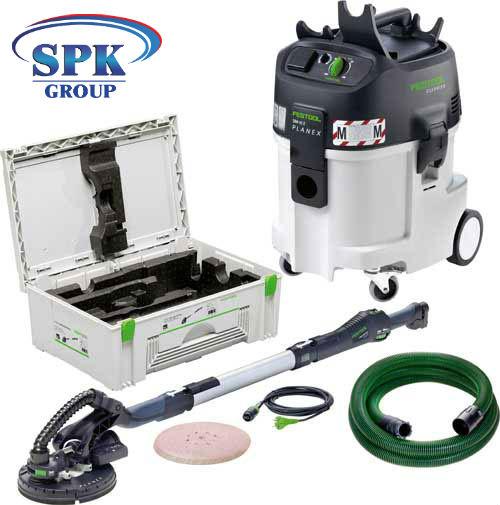 Машинка шлифовальная PLANEX LHS 225 EQ-Set с аппаратом пылеудаления