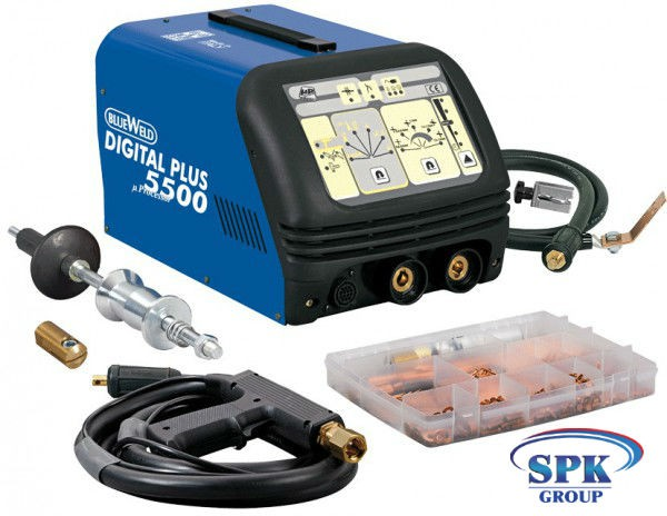 Аппарат точечной сварки мод. DIGITAL PLUS5500 – 400 V (Digital Car Spotter 5500 – 400 V) BLUEWELD/TELWIN