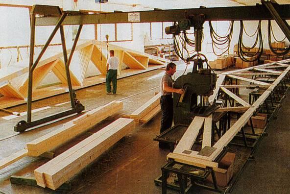 BOVA Линия по производству домов на основе соединения металлическими пластинами
