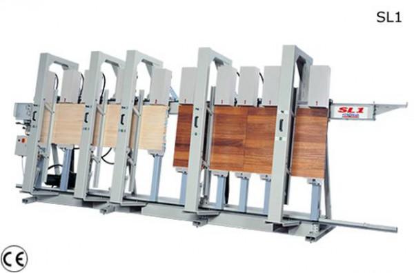 Пресс для склейки бруса STROMAB SL1-6000