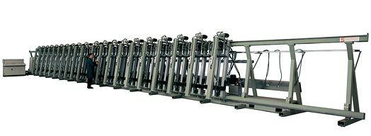 Пресс для склейки бруса STROMAB SL3-6000