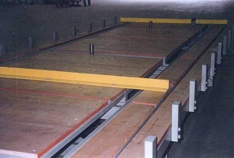 Стол монтажный для изготовления деревянных панелей и ферм Schmidler