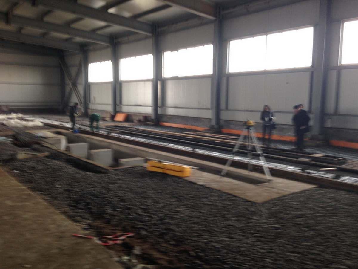 Окрасочно сушильная камера для окраски металлоконструкций и ферм SPK 15.4.6. Подготовка фундамента для камеры окраски.
