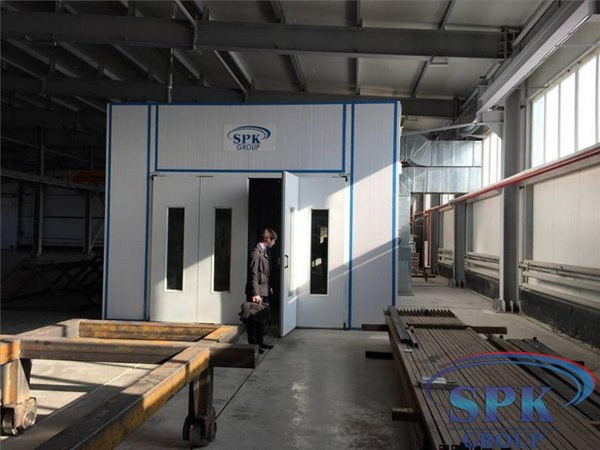 Запуск камеры для металлических конструкций и ферм