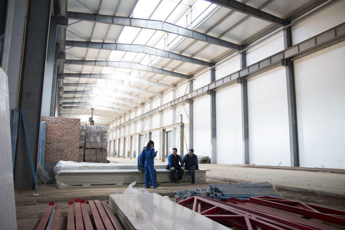 Завод по производству дизельных двигателей для локомотивов GEVO г. Астана (Казахстан). Строительство моечной камеры.