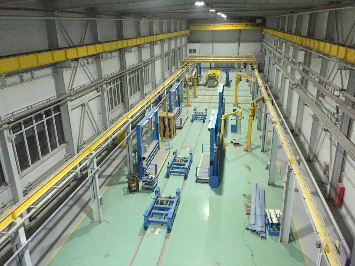 Оснащение технологическим оборудованием Завода по производству дизельных двигателей GEVO в Астане