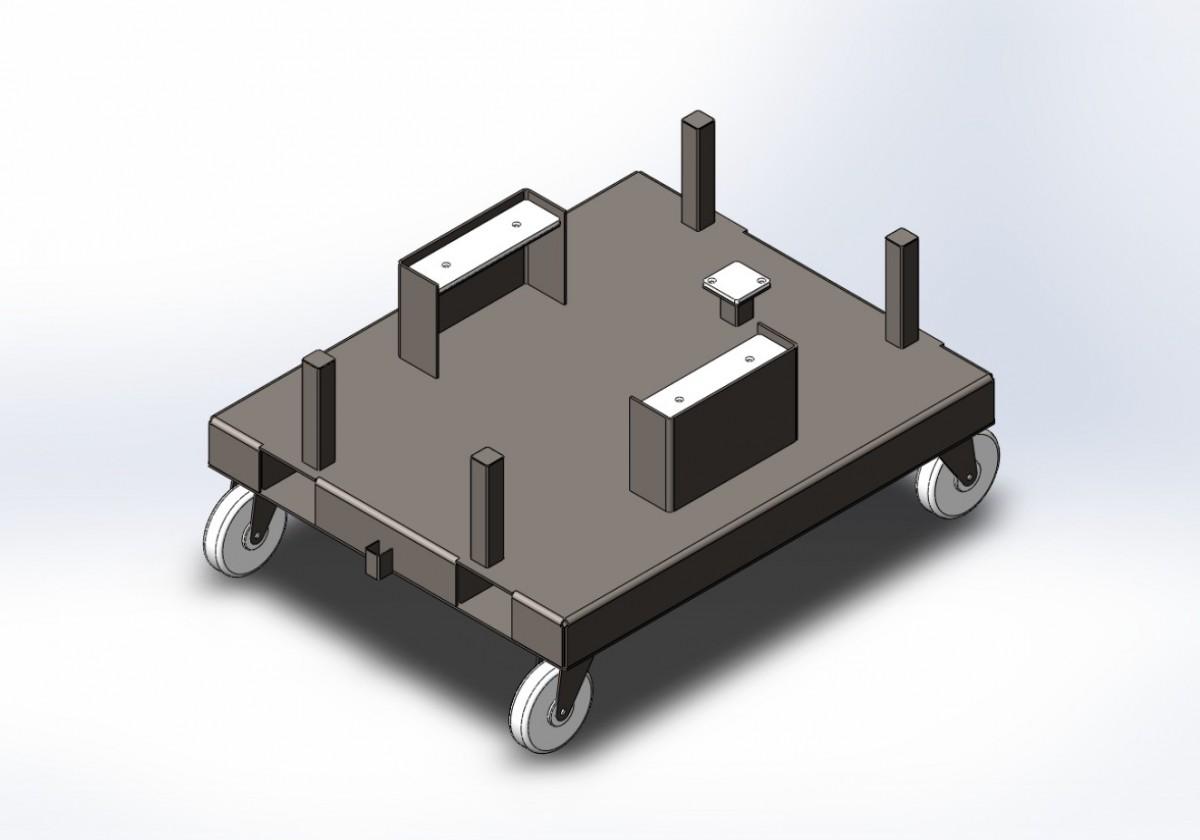 Тележка для турбокомпрессора