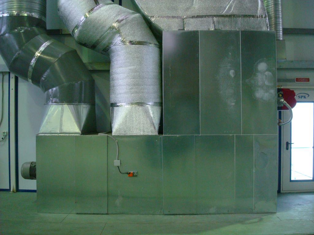 Проходная покрасочно-сушильная камера для грузовых автомобилей SPK-18.5.5, г. Миасс