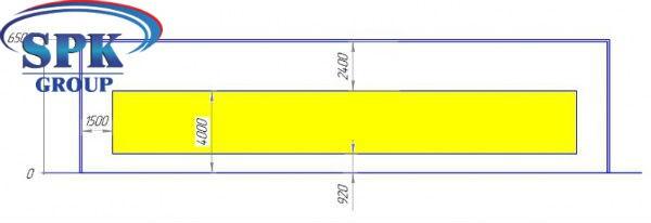 Проходная окрасочно-сушильная камера для двух вагонов SPK-25.13.6