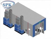 Окрасочно-сушильная камера для грузовиков SPK 12.6.5.