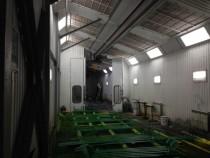 Модернизация покрасочной камеры для сварных металлоконструкций