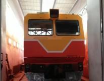 Модернизация окрасочно сушильной камеры для локомотивов SPK-22