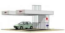 Зона подготовки на 2 поста с вертикальным продувом и подогревом (дизель) USI ITALIA PA005