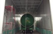 Покрасочно-сушильная камера для цистерн и вагонов Уличное исполнение г. Партизанск SPK-18x6x6 Россия