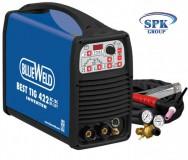 Инвертор аргонно-дуговой BEST TIG422 AC/DC HF/ Lift R.A. + компл. – 380 V-350A Жидк. охл-е  BLUEWELD/TELWIN