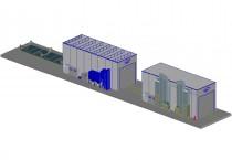 Окрасочно-сушильный комплекс для резервуаров SPK-19.6.6