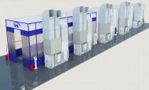 Покрасрочно-сушильный комплекс для комбайнов SPK-42.6.6
