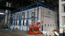 Строительство окрасочно-сушильной камеры для трубопроводов SPK-15.8.6, г. Челябинск
