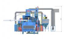 Автоматизированная линия дробемётной очистки и консервации металлопроката SPK D K 25.6.11-R