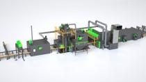 Линия дробеметной обработки и консервации металла SPK D K – R серии PROFI LINE