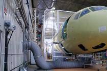 Телескопическая окрасочная камера для авиации SPK-13.6.6