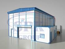 Уличный комплекс подготовки и покраски для машиностроения SPK-P 23.10.7
