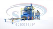 Автоматизированная линия дробемётной очистки и консервации металлопроката SPK D K 10.4.7-R