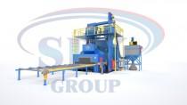 Автоматизированная линия дробемётной очистки и консервации металлопроката SPK D K 25.6.15-R