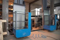 Производство лифтовых площадок для камер