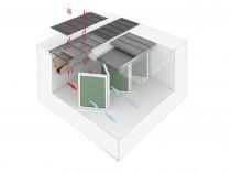Система лабиринтных полов для открытых зон окраски SPK