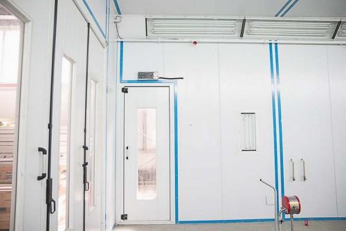 Запуск камеры для металлических конструкций и ферм, Астана (Казахстан)