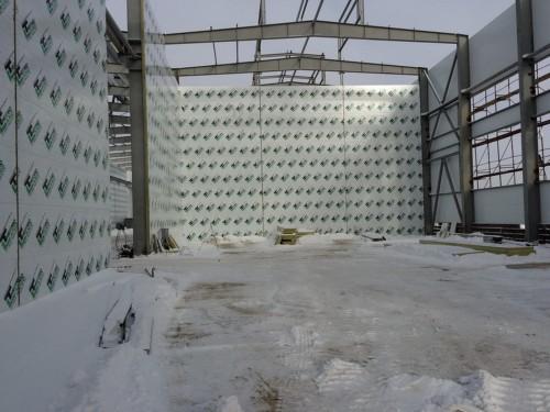Строительство Завода по производству дизельных двигателей GEVO г. Астана (Казахстан).