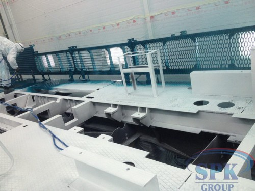 Окрасочно-сушильная камера проходного типа SPK-24.5.5 г. Набережные Челны